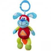 Плюшена детска играчка за кошарка и количка Смеещо се кученце - 1141 Babyono, 9070071