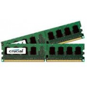 Crucial 4 GB DDR2-RAM - 667MHz - (CT2KIT25664AA667) Crucial Value Kit CL5