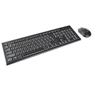 Trust Nola Wireless Keyboard & Mouse Bundle 13 Media Keys Spill Resistant