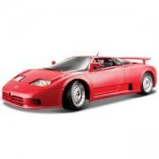 Метална количка Bburago Gold 1:18 - Bugatti EB110 - 2 налични цвята - Bburago, 093135