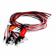 Generic Rc Led Light Strobing +Turning lights combo Mode for 1/10 1/16 1/18 RC Model Car Truck Accessory