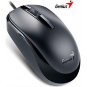 Genius DX120 Black Mouse - 3 Button With Scroll,