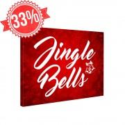 Jingle Bells - Vászonkép - 20x25 cm