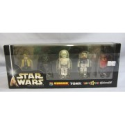 Star Wars Kubrick Toys R Us Exclusive '05 2005 Luke Skywalker, Imperial R5, K-3PO, Ten Numb, Wicket Ewok