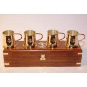 SET BICCHIERI Mod.B CAFFE' CON BOX