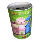 Doc McStuffins - Kids Coin Saving (Money) Bank - Disney - I Care. You Care