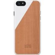 Skin Native Union Luxury Clic Apple iPhone 6 Plus Lemn de cires White