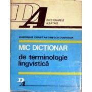 mic dictionar de terminologie lingvistica