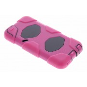 Roze extreme protection army case voor de iPod Touch 5g / 6