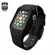 Incipio NGP - удароустойчив силиконов калъф за Apple Watch 38 mm (черен)