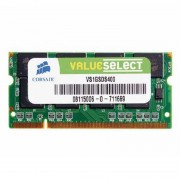 1Go RAM PC Portable SODIMM Corsair ValueSelect VS1GSDS400 DDR1 PC-3200 400MHz