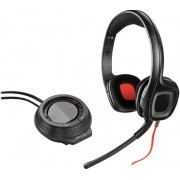 Casti Gaming Plantronics GameCom D60, Amplificator, Microfon (Negre)