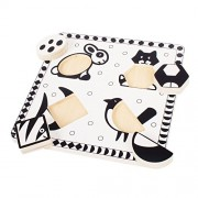 Bigjigs Toys Pets Black and White Puzzle