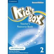 Kid's Box Level 2 Teacher's Resource Book with Online Audio: Level 2 by Kathryn Escribano