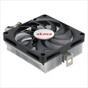Akasa AK-CC1101EP02 - Ventola di raffreddamento per CPU Low Profile AMD, 80 mm