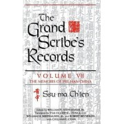 The Grand Scribes Records: Memoirs of Pre-Han China v. 7 by Ssu-Ma Ch'ien