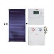 Pachet panouri solare Bosch 2 FKT-1S + ISM 1 - acoperis plan
