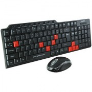 Quantum QHM8810 Wired USB Keyboard Mouse Combo For PC/Laptop/Desktop