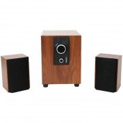 Sistem audio 2.1 Omega OG24 WBR 25W WOOD BROWN