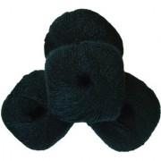 Glittering Wool Pack Black 300 Gm (6Pc)