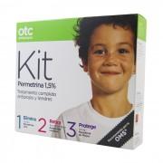 Pack Otc Antipiojos Kit 1 2 3 Permetrina 1.5 %