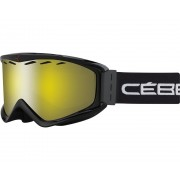 Masque De Ski Masque De Ski Cebe Infinity Otg Noir Yellow Flash Mirror