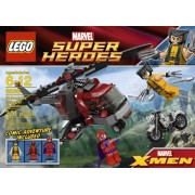 LEGO Super Heroes 6866: Wolverine's Chopper Showdown by LEGO