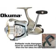 Катушка Okuma Epix EB-20, задн торм, 10 подш, 5,0:1, зап шп, 0,2мм/100м К01-00079