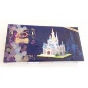 Nano Block Cinderella Castle Deluxe Edition (Limited 3000) (Japan Import) By Disney
