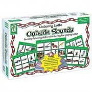 Listening Lotto: Outside Sounds Educational Board Game