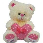Dealbindaas Iggy Bear 30 Cms (Cream)