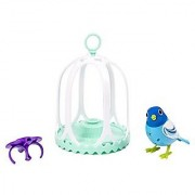 Digibirds - Bird With Bird Cage - Blue