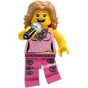 LEGO Collectable Minifigures: Pop Star Minifigure (Series 2) (Bagged)