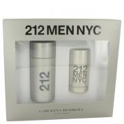 Carolina Herrera 212 Eau De Toilette Spray 3.4 oz / 100.55 mL + Deodorant Stick 2.1 oz / 62.1 mL Gift Set Fragrance 456634