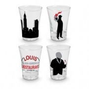Copos de Shot para Tequila Poderoso Chefão Restaurante do Louis