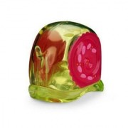 Xia-Xia Crab Shells - Green/Yellow With Pink Swirl (collectible Shell and 2 little friends)