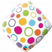 Balon Folie 45 cm Qualatex, Buline, 34410