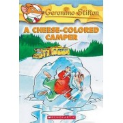 A Cheese-coloured Camper by Geronimo Stilton