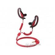 Căști Pioneer SE-E721-R, negru/roșu