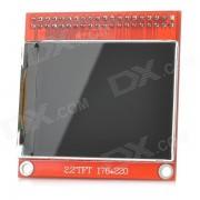 """""""Elecfreaks TFT01-2.2 Modulo 2.2 """"""""TFT LCD de bricolaje Arduino y SCM - Rojo + Negro (176 x 220)"""""""