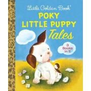Little Golden Book Poky Little Puppy Tales by Janette Sebring Lowrey