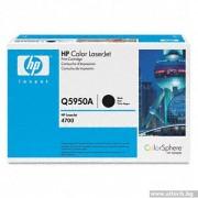 HP Color 643A Black LaserJet Q5950A Black Print Cartridge (Q5950A)