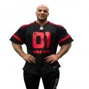 Gorilla Wear GW Athlete T-Shirt Big Ramy Black/Red - XXXL