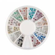 Carusel 240 tinte metalice 2 mm, diverse culori, art. nr.: 761546