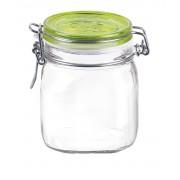 Bormioli Rocco Fido Trans csatos befőttes üveg 0,75 literes zöld - 119033