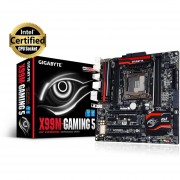 Gigabyte GA-X99M-Gaming 5 - 1.0 - motherboard - micro ATX - LGA2011-v3 Socket - X99 - USB 3.0 - Gigabit LAN - HD Audio (8-channel)