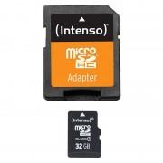 Cartão de Memória MicroSDHC Intenso 3403480 - 32GB