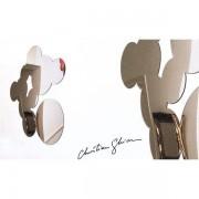 Miroir décoratif BUBBLES par Christian Ghion - formes douces - 76 x 96 cm - deco et design