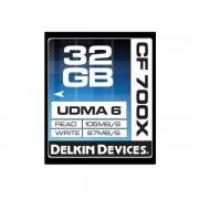 Card Delkin Compact Flash 32GB 700x UDMA 6