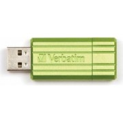 USB Flash Drive Verbatim PinStripe 16GB USB 2.0 Verde
